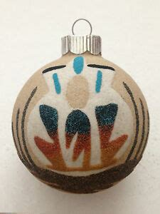navajomade sand ornaments navajo handmade sand paintings 2 62 inch wedding vase designed glass ornaments ebay