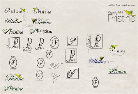 logo development process index of categories logo development