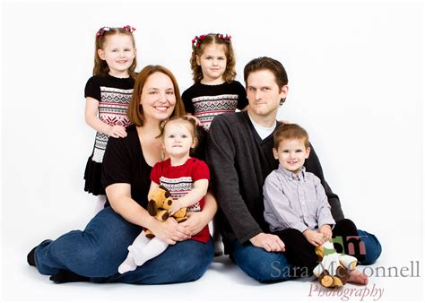family of 6 ottawa family portrait photographer