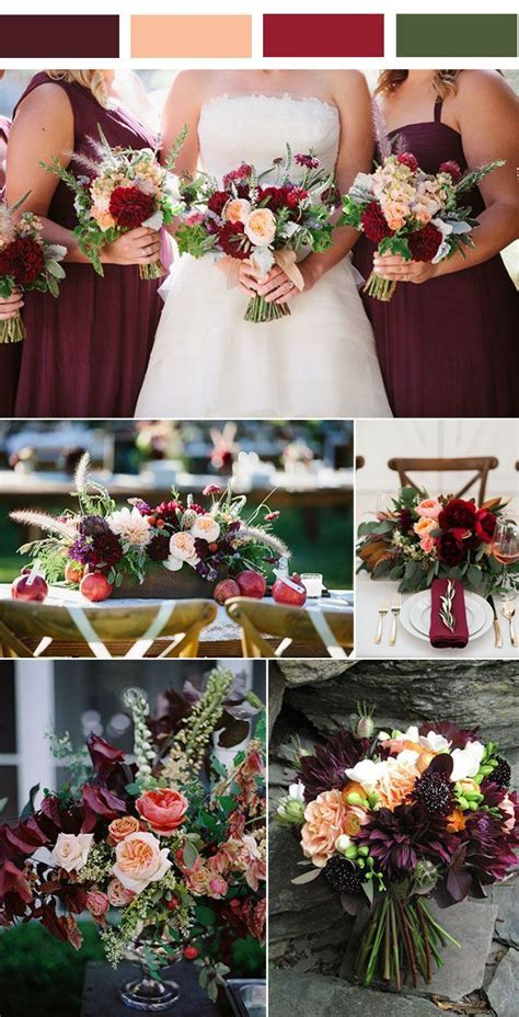 25  best ideas about Wedding color combinations on