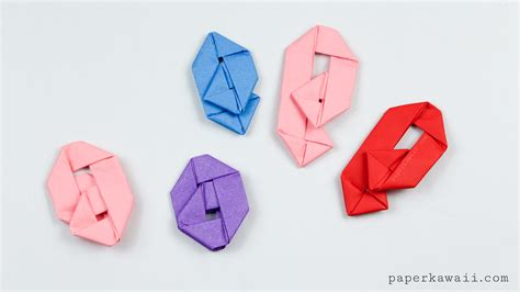 Where Can I Get Origami Paper - how to make an origami paperclip paper kawaii