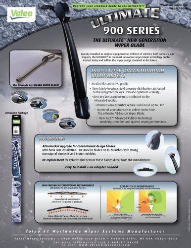 All New Hilux Wiper Mobil Valeo Flat Blade Quality 2 Pcs Kiri Kanan best valeo 900261b frameless ultimate 26 all season oe replacement wiper blade reviews from