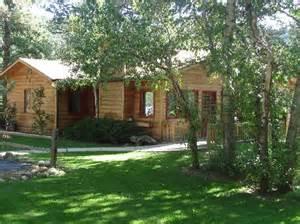 estes park cabins colorado cabin rentals streamside on
