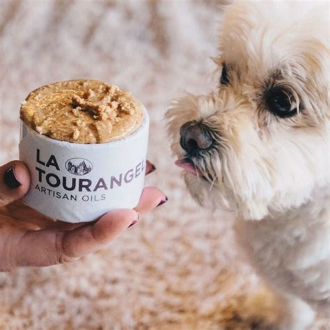 almond butter for dogs friendly almond butter with coconut la tourangelle