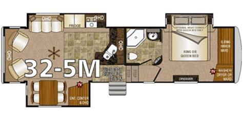 arctic fox 5th wheel floor plans 2016 northwood arctic fox silver fox 32 5m trailer
