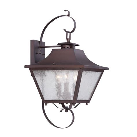 Lithonia Lighting Wall Mount Outdoor Bronze Light Fixture Garden Light Fixtures