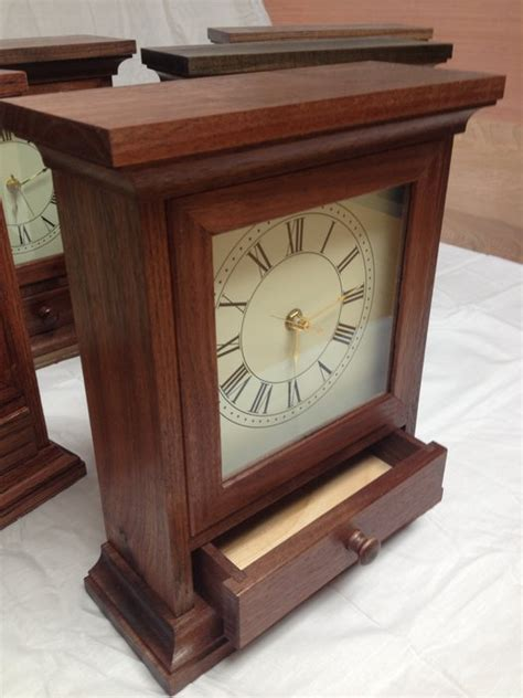 clock plans woodworking mantel clock with free plans by randy sharp