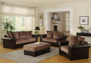 brown livingroom living room decorating ideas brown sofa room decorating