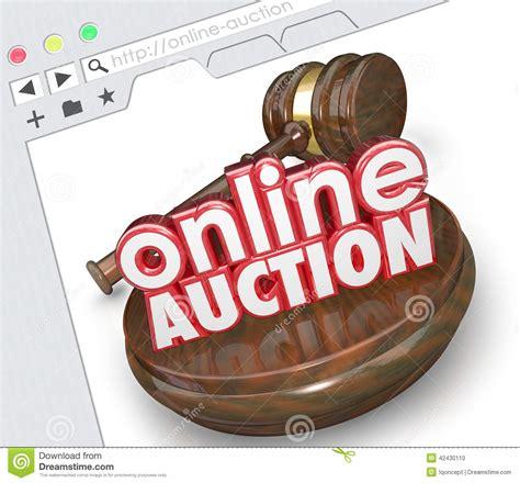 bid web auction stock illustration cartoondealer