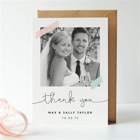 Don't forget your wedding thank you cards!   Love Our Wedding