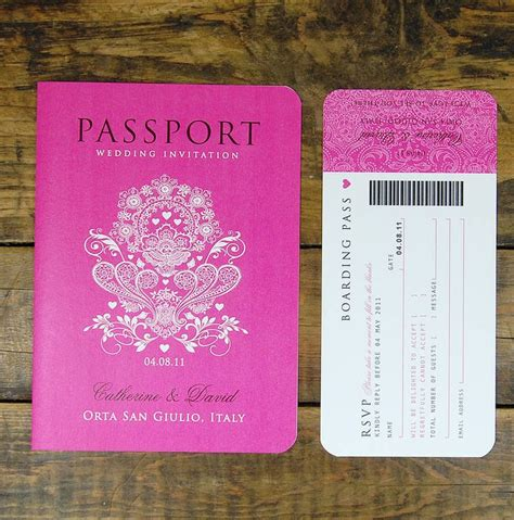 wedding passport template 25 best ideas about passport wedding invitations on