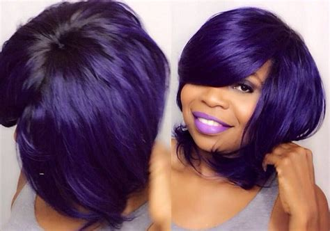 no part short hair style no part quick weave tutorial video quick weave wig and