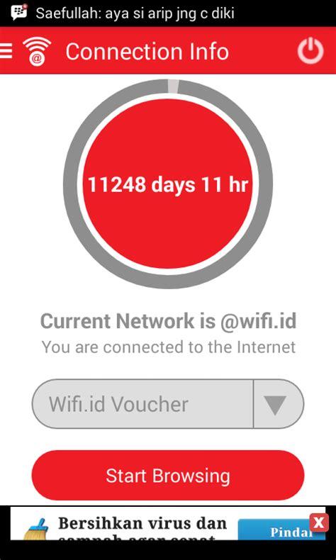 Voucher Wifi Id Terbaru gratis selama 32 tahun masa sih revolusi android