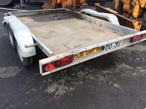 Remorque Porte Voiture Amca Noval by Remorque Amca Noval 2 Essieux D Occasion Remorque D