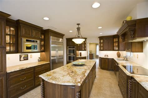 Granite Kitchen Countertops Improving Kitchen Kitchen Design Granite