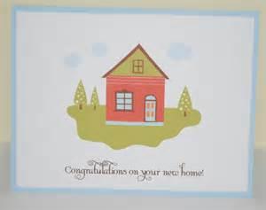 congratulations new home card
