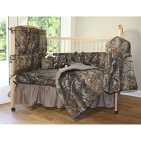 Realtree Crib Bedding All Purpose Realtree Hd Camo Baby Crib Set 7pc
