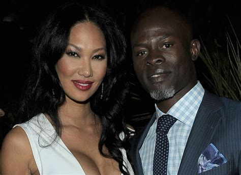 Kimora Simmons New Boyfriend Dijimon Hounsou Snarky Gossip by Kimora Simmons And Djimon Hounsou Split Up Screener