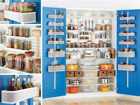 elfa Shelving and Storage system in The Pantry.