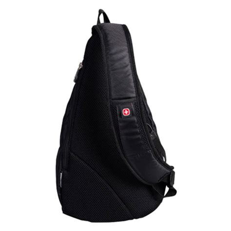 C772 Black Sling Bag swiss gear sling bag black