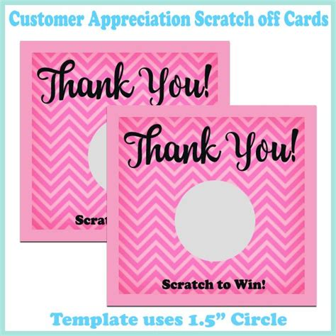 Customer Appreciation Card Templates by 12 Best Business Promotions Images On Sticker