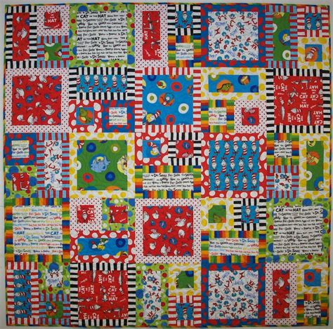 Dr Seuss Quilt Pattern by Quilting By Judith Dr Seuss Quilt