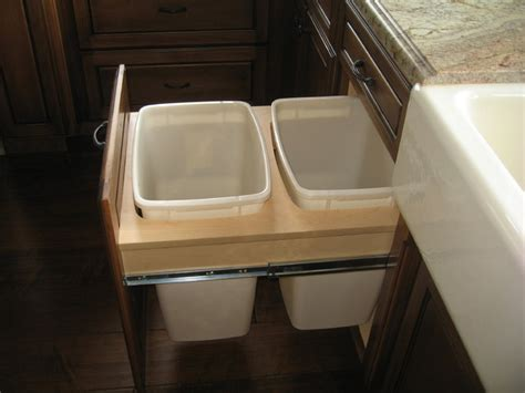 Kitchen Garbage Cans Built In Built In Garbage Cans Home Designs Project