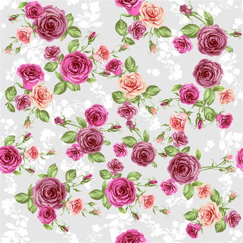 wallpaper bunga vector latar belakang bunga yang romantis vector latar belakang