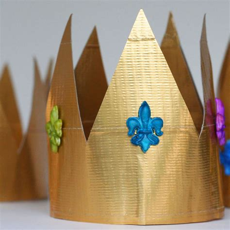 crown craft ks1 father s day quot king for a day quot duct tape crown