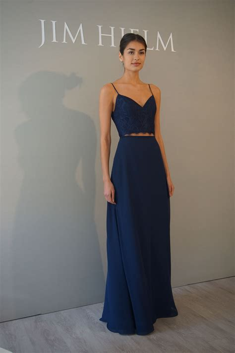 piece bridesmaids dress  hayley paige occasions