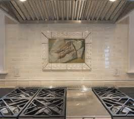ceramic tile murals for kitchen backsplash kitchen tile murals pacifica tile art studio