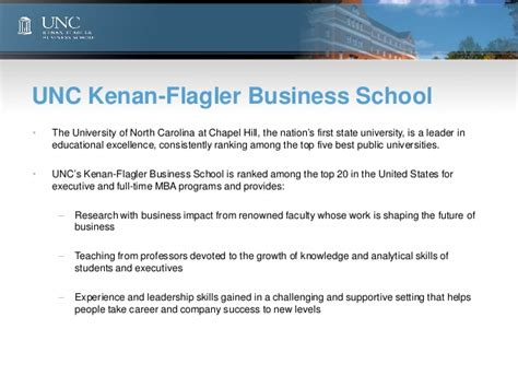 Kenan Flagler Mba Hiring Stats by Unc Leadership Survey 2012 In Business