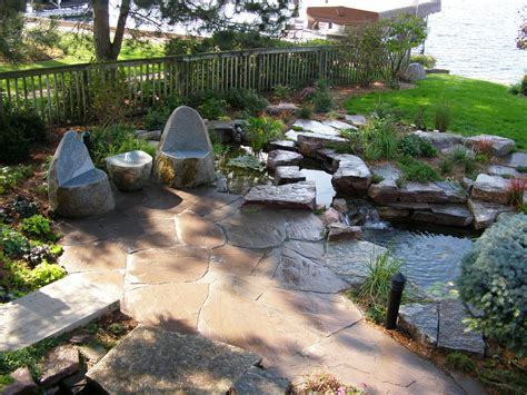 Landscape Rock Patio Patios And Walkways In The Utica Ny Area