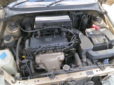 2005 Kia Engine Kia Dc 2000 2005 1 3 1343cc 8v Petrol Engine