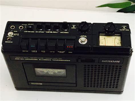marantz cassette recorder marantz superscope cd 330 t professional portable 3