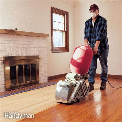 Hardwood Floor Sanding: Do It Yourself Tips   The Family