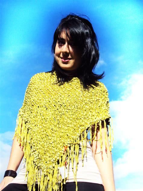 bufanda collar tejido en dos agujas ruana tejido a dos agujas newhairstylesformen2014 com