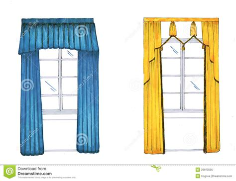 curtain graphic graphic sketch drapery curtain royalty free stock photo