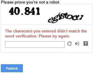 Word Verification On Comments by How To Disable Word Verification Captcha From