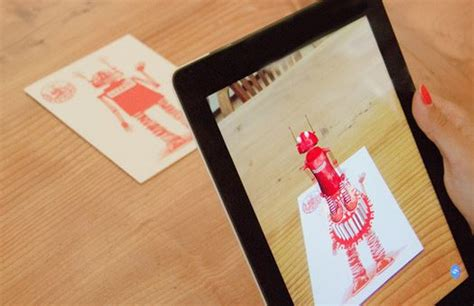 how to make augmented reality cards piquing our augmented reality greeting cards cool