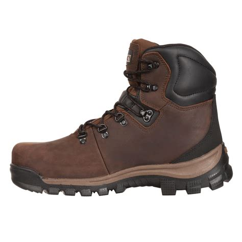 rocky s waterproof hiking work boots style 2421