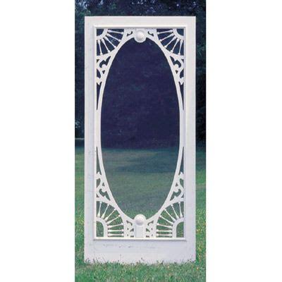 large oval screen door  cumberland woodcraft