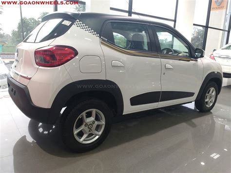 renault kwid black colour renault kwid customized looks stunning now available in goa