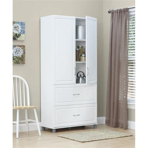 lada wood portatile 36 quot 2 drawer 2 door cabinet in white aquaseal 7364401pcom