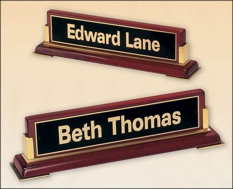 name stand for desk stand alone desk name plate