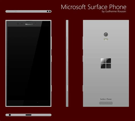 Microsoft Surface Phone surface phone concept phones