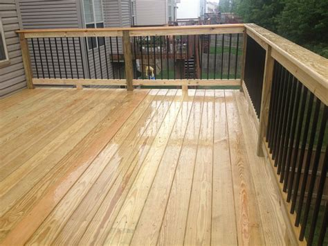 spindles for deck black metal aluminum spindles on 12x16 deck with premium