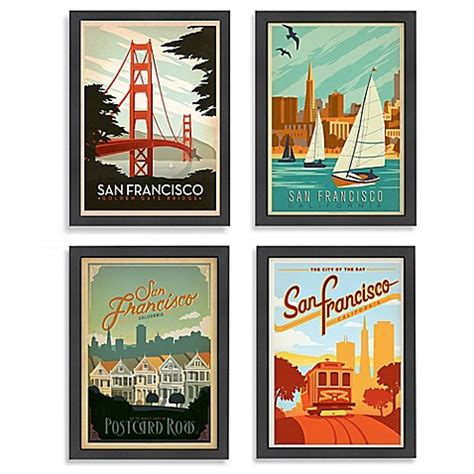 bed bath and beyond san francisco americanflat san francisco framed wall art bed bath beyond
