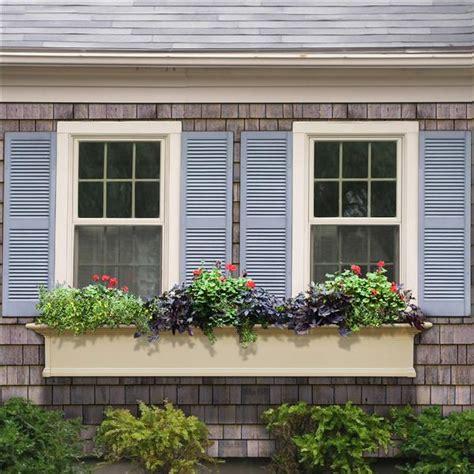 6 foot window box mayne post window flower box white 6ft