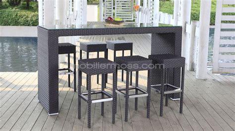 Table De Bar Haute Jardin